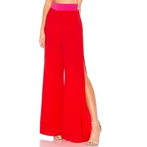 NWT SMYM Campbell High Slit Pant in Kiss Kiss